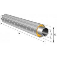 Трубы ППУ в оцинкованной оболочке 57х3,5
